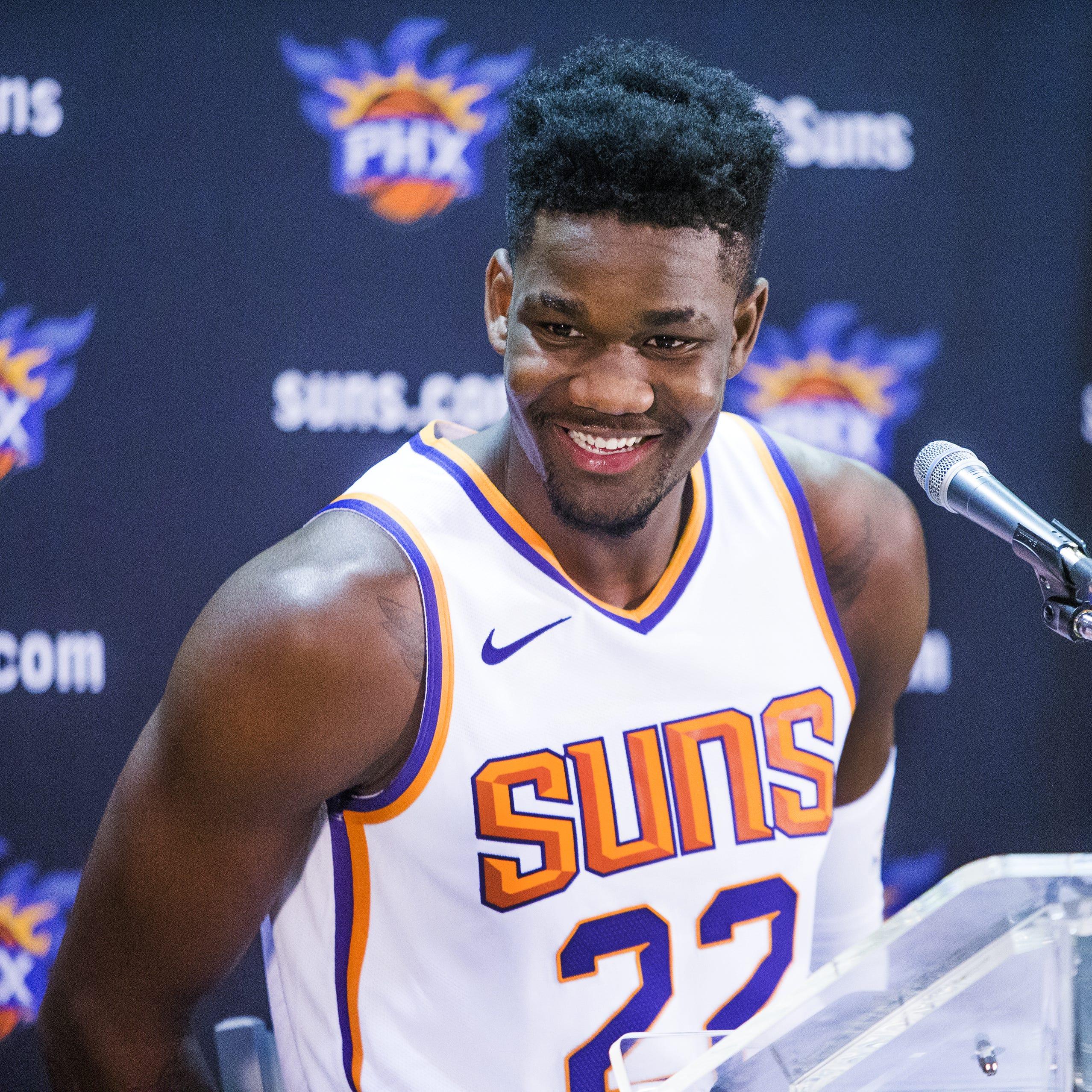 Phoenix Suns' Deandre Ayton responds to Philadelphia 76ers' Joel Embiid's comments