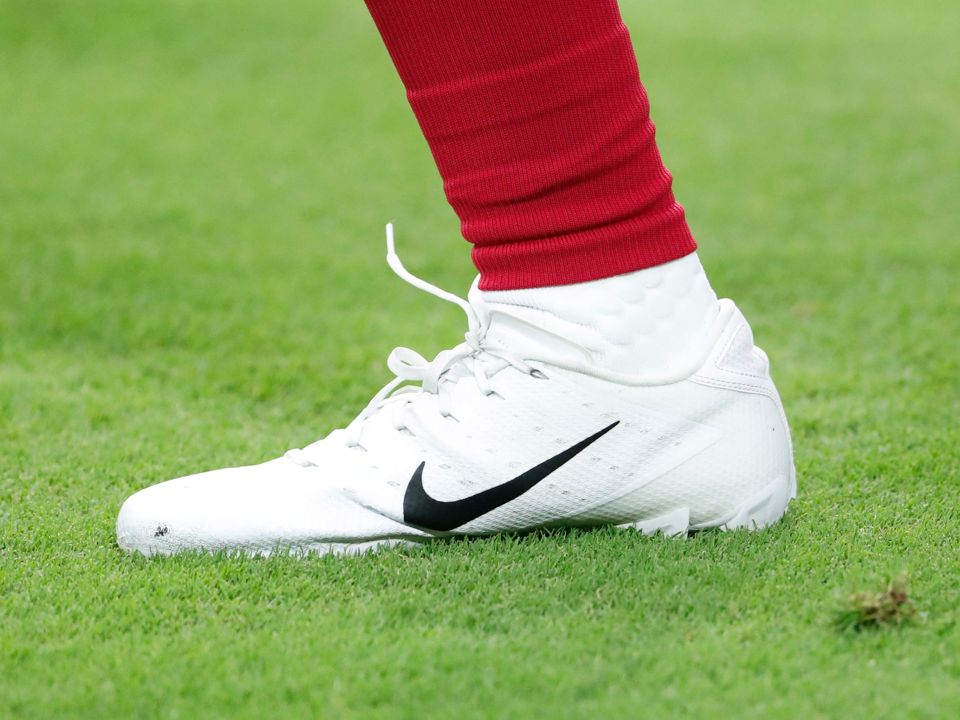 Cleats icon before NFL action between the Arizona Cardinals and the Chicago Bears at State Farm Stadium in Glendale, Ariz. September 23, 2018.
