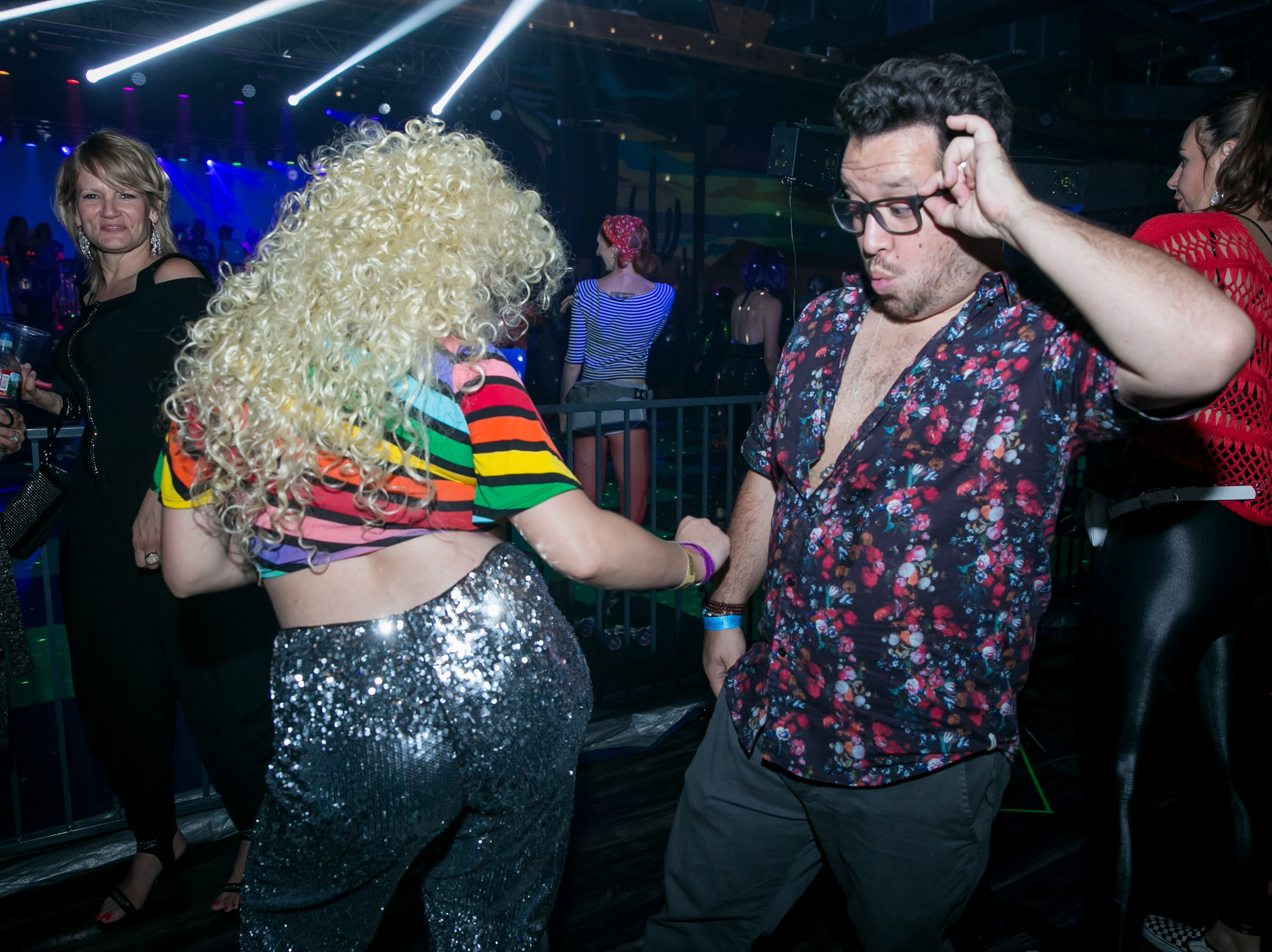 Groove thangs were shook during The Van Buren's Roller Disco Dance Party on Friday, September 21, 2018.