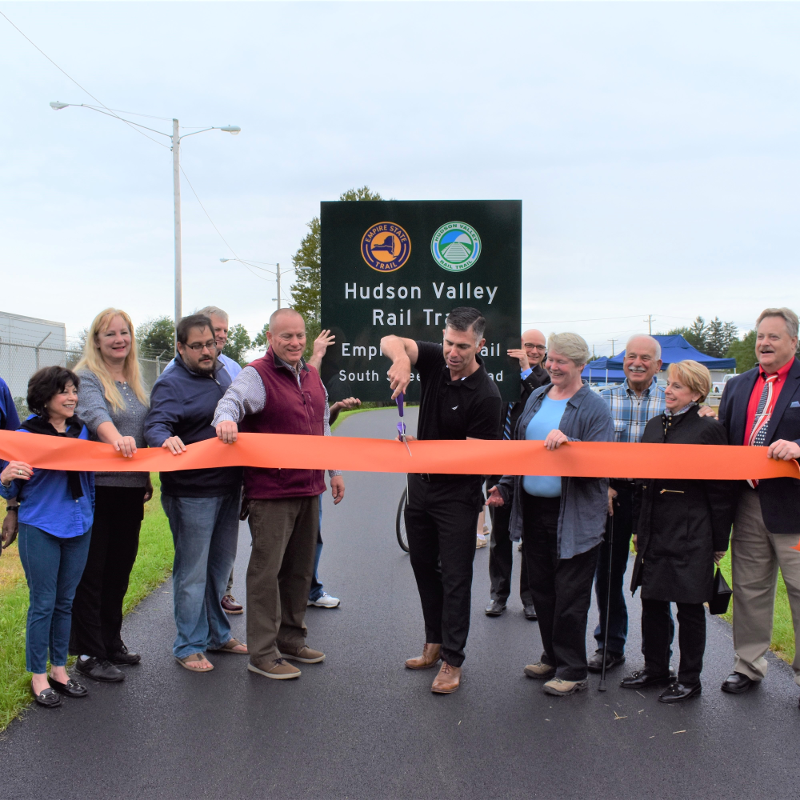 New Hudson Valley Rail Trail stretch opens as massive project continues