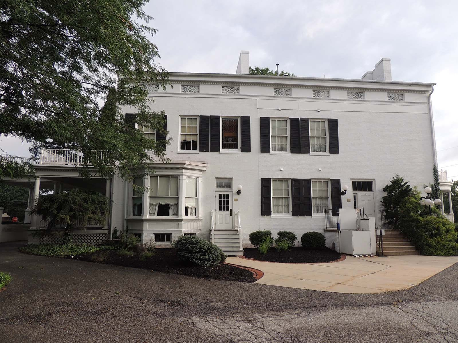 The 1835 Emwood Mansion on Belmont Street in Spring Garden Township is for sale.