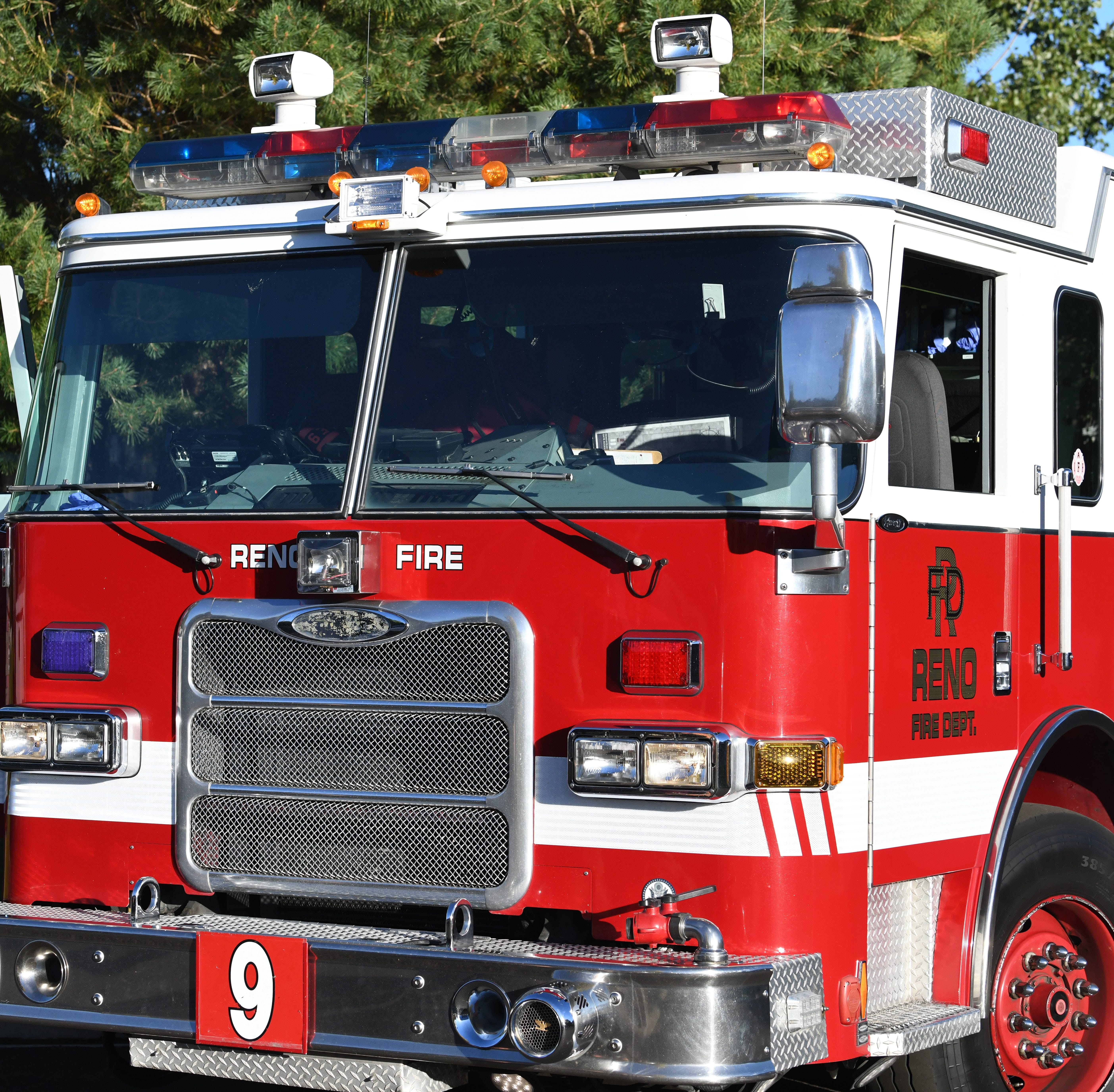 RFD: Sunday morning garage fire displaces family of three from South Reno home