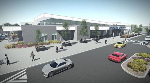 Under construction: New DMV, new home for Lithia and 1.6M square feet of industrial space