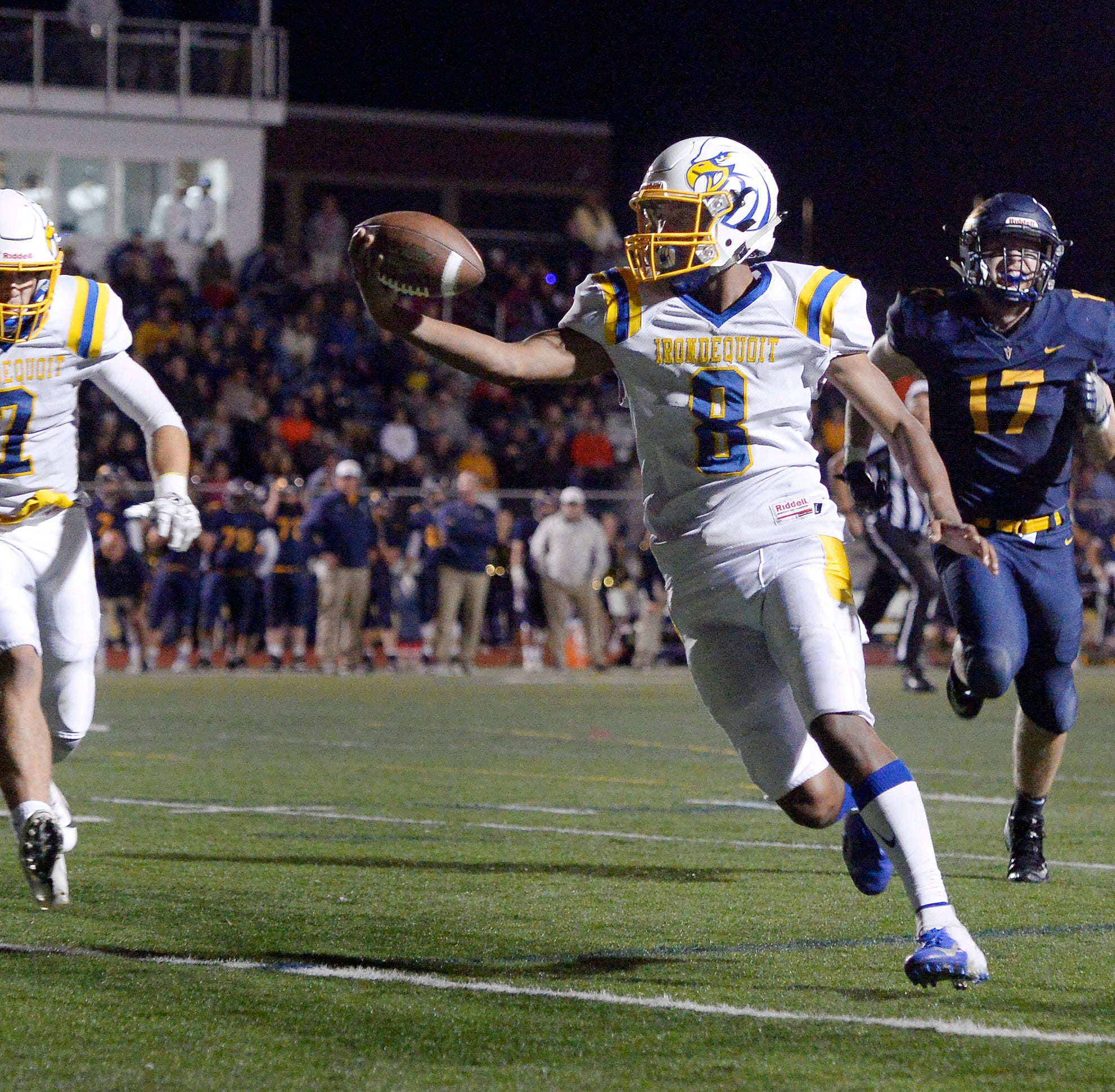 Freddy June's late-game heroics lead Irondequoit over Victor in state-ranked clash