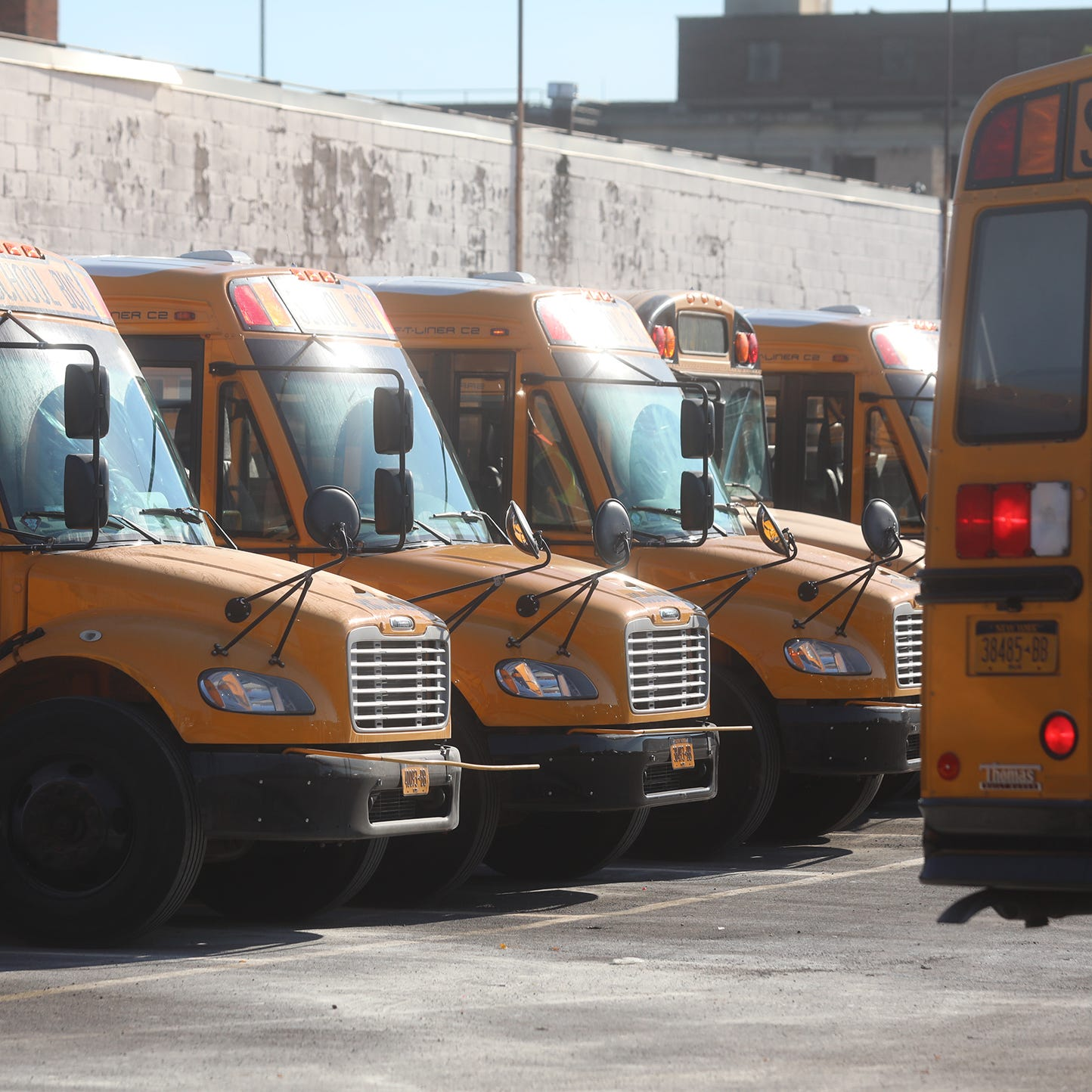 35 school buses vandalized; some Rochester students picked up late