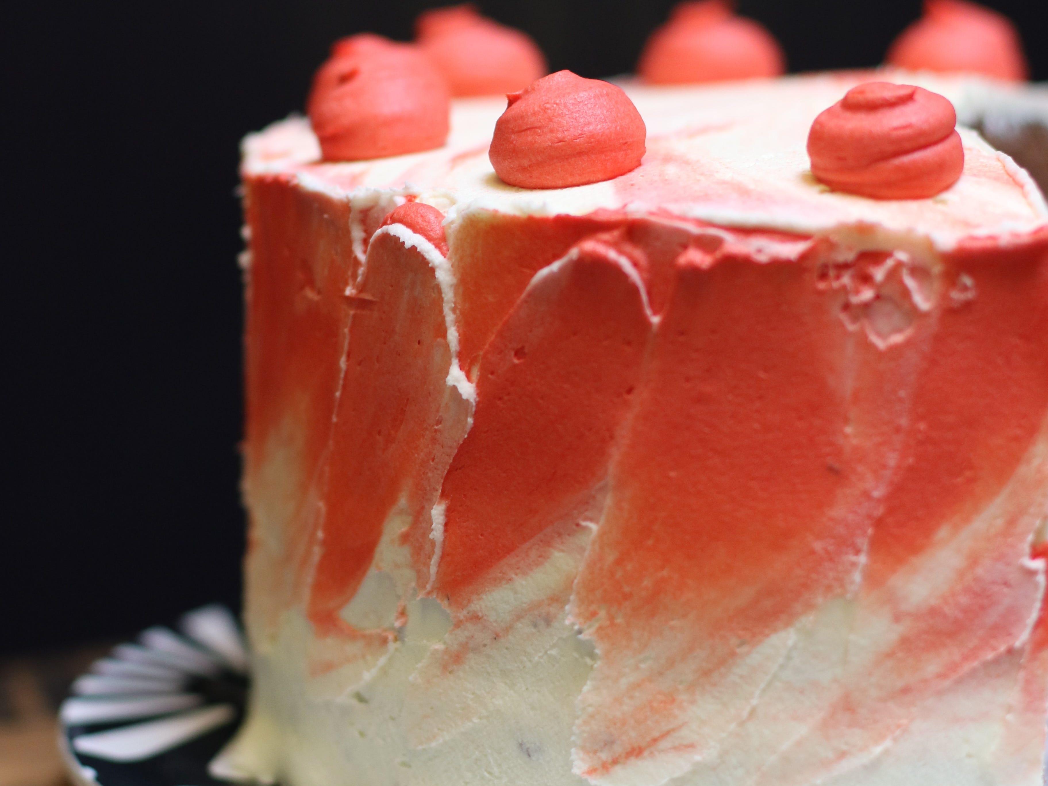 Grandma Ann's Red Velvet cake at Sweetsmith Salem.
