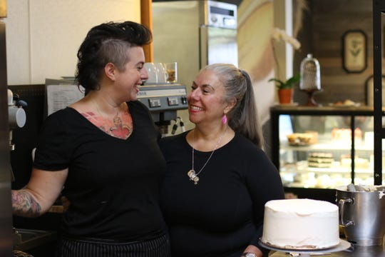 Sweetsmith co-owners Alena Stewart (left) and her mom, Diana Ramallo (right). The two opened Sweetsmith on September 13, 2018.