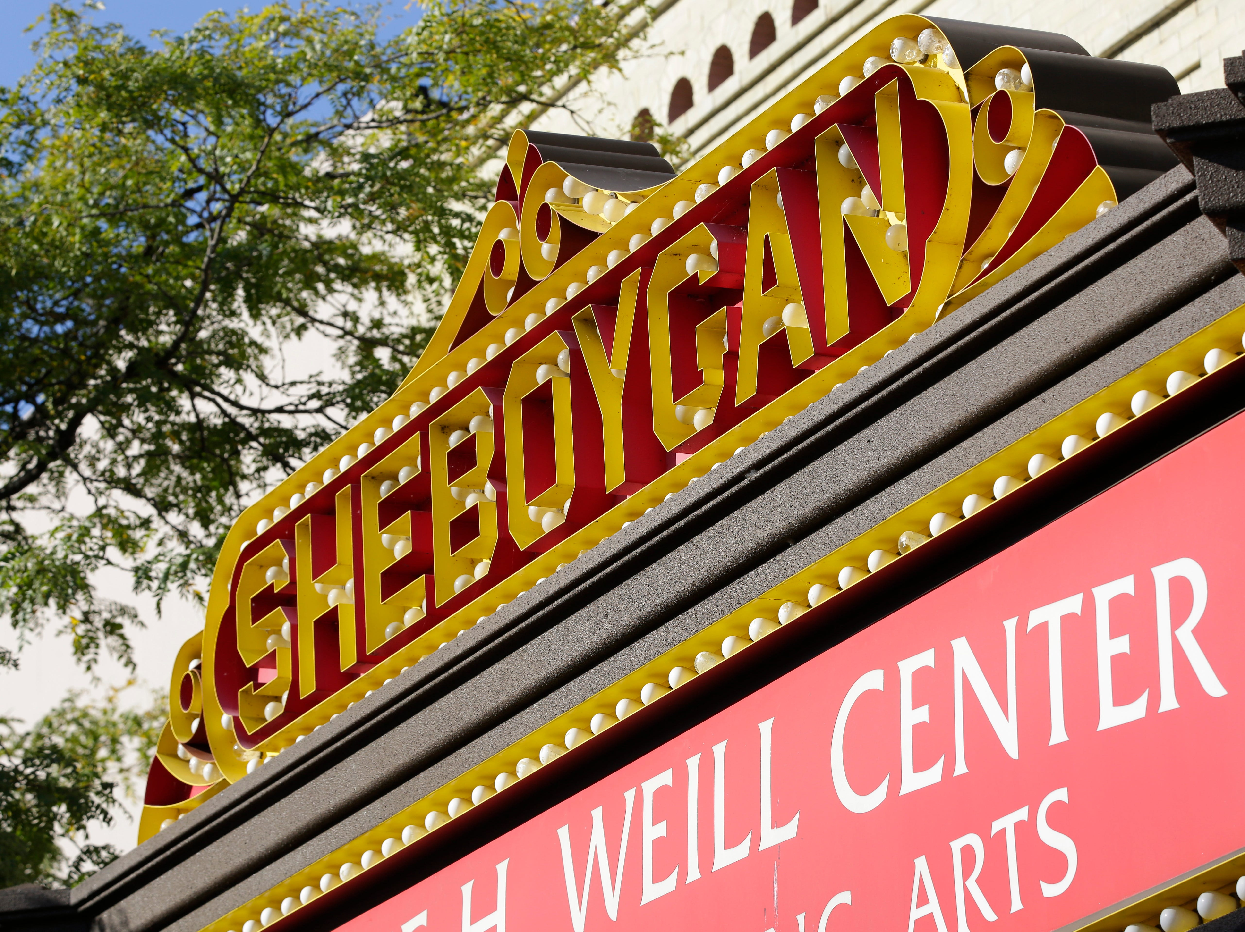 Every single lamp on the marquee of the  Stefanie H. Weill Center for the Performing Arts Center will be converted from incandescent to LED bulbs, Sunday, September 23, 2018, in Sheboygan, Wis. The Center hopes to slash its energy costs with the conversion.
