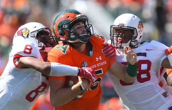 Illinois State won it's second straight FBS game, trouncing Colorado State