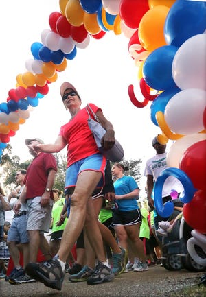 The annual Heart Walk to fight heart disease and promote a healthy life style will be held Thursday, Sept. 12, at Cascades Park this year.