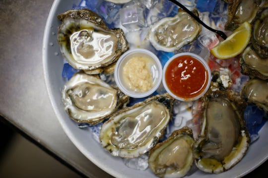 Florida oysters are celebrated at the annual Florida Seafood Festival in Apalachicola this weekend.