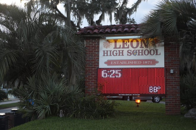 Leon High School Principal Billy Epting alerted parents that there was no threat after staff was made aware of an Instagram post showing a student holding a knife.