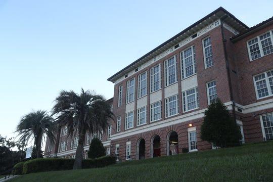Leon High School building exterior Sept. 23, 2018.