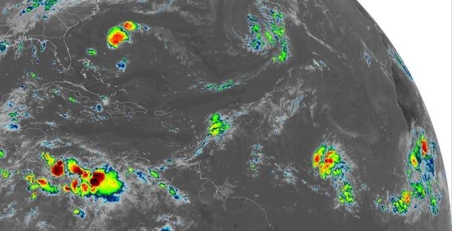 Tropical Atlantic 9 a.m. Sept. 24, 2018.