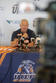 UTEP head coach Dana Dimel discusses his teams loss against NMSU Saturday night 27-20 in the Battle of I-10. The Miners will now travel to San Antonio for their game Saturday afternoon against the Roadrunners of UTSA.
