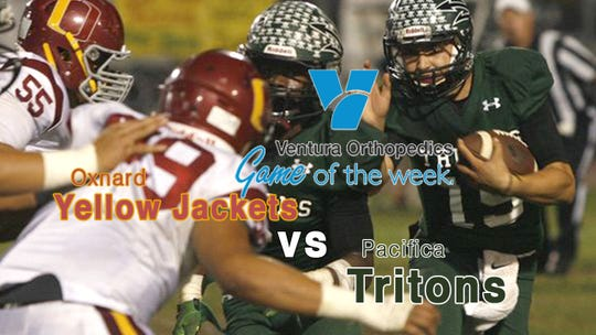 Oxnard plays at Pacifica in the Ventura Orthopedics live-streaming Game of the Week on Friday night, live at 7 p.m. at vcstar.com.