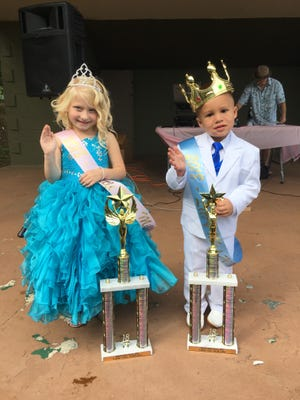 Cecelia Hiles,Miss Little Millville 2018, and Carter McWhorter,Mr. Little Millville 2018, were crowned duringMillville Recreation Department's annual Baby Show on Sept. 22.