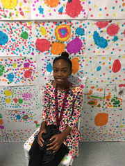 "Winslow Elementary school students and staff members were encouraged to ""wear their dots"" on International Dot Day on Sept. 14."