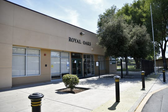 Royal Oaks Elementary School, located at 1323 S. Clover St. in Visalia, on July 10, 2018.