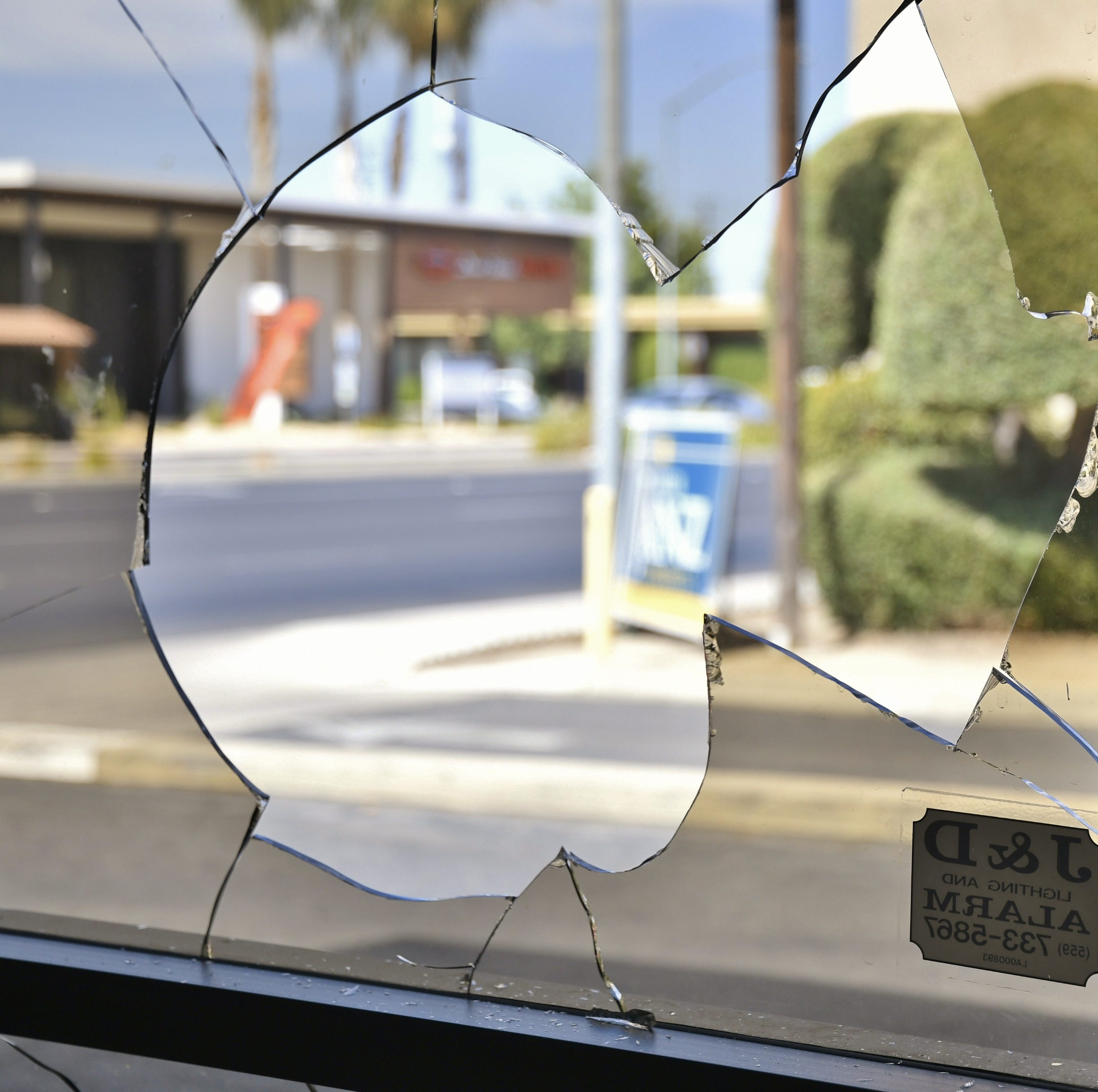 Andrew Janz 'won't back down' after Visalia headquarters vandalized