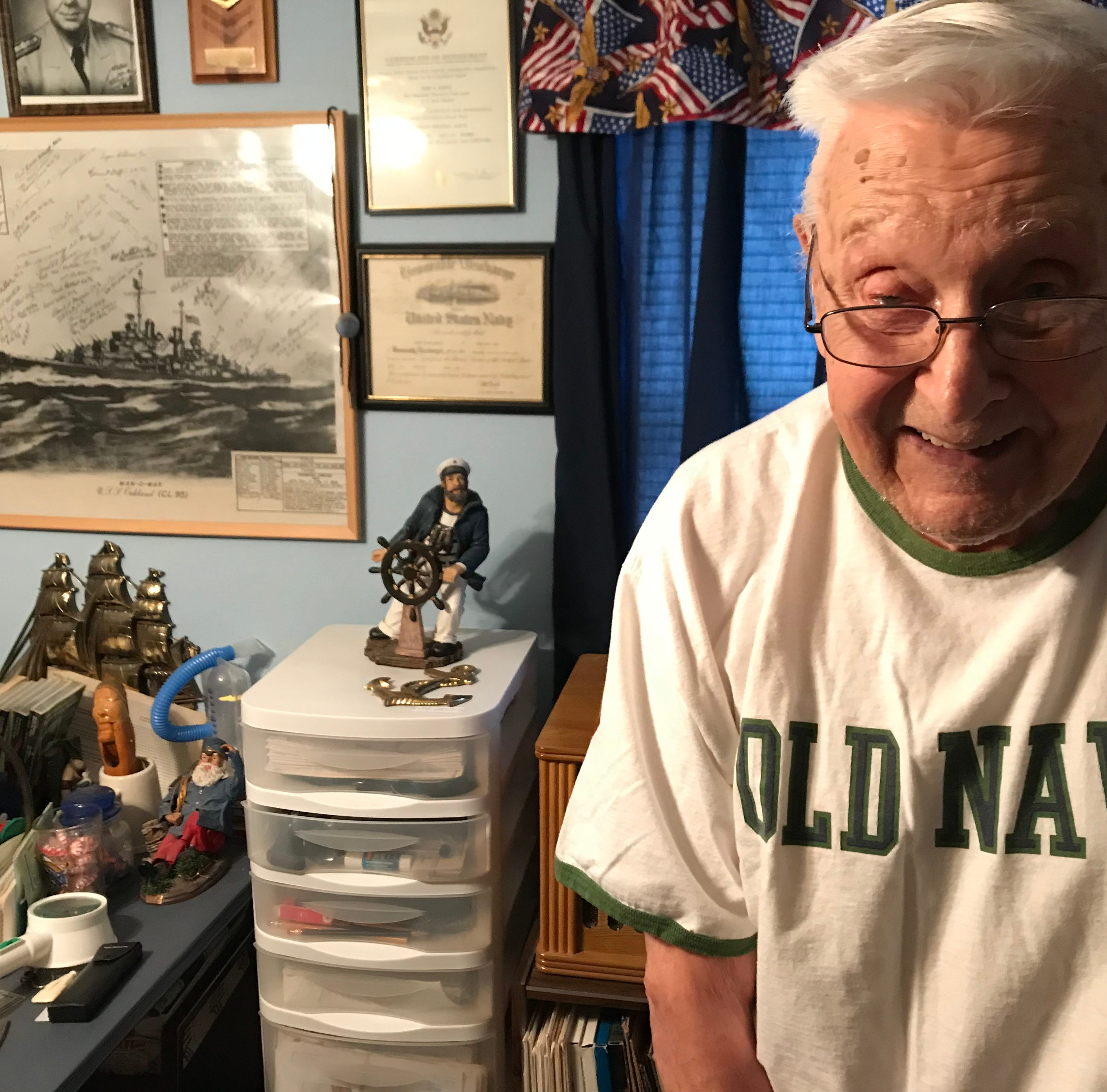 WWII sailor, 95, from Wisconsin Rapids yearns to see his old ship's mast one more time