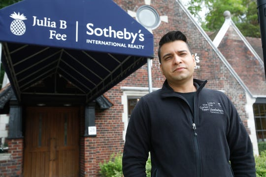 Inaam Rahman a licensed associated real estate broker for Julia B. Fee Sotheby's International in Scarsdale on Sept. 24, 2018.
