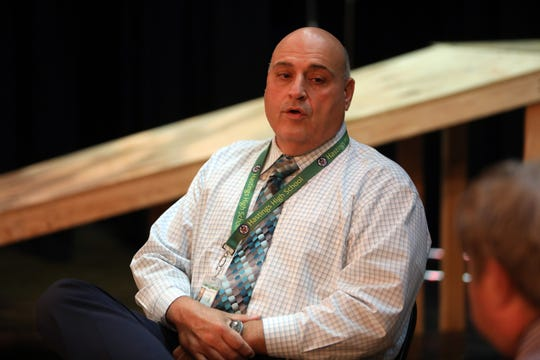 "Hastings Principal Louis Adipietro: ""I think the message behind 'Hairspray' is an important one. I think our district is ripe for this, and that where we're starting having those conversations that revolve around diversity. And I think this is just another layer that we can put on it."""