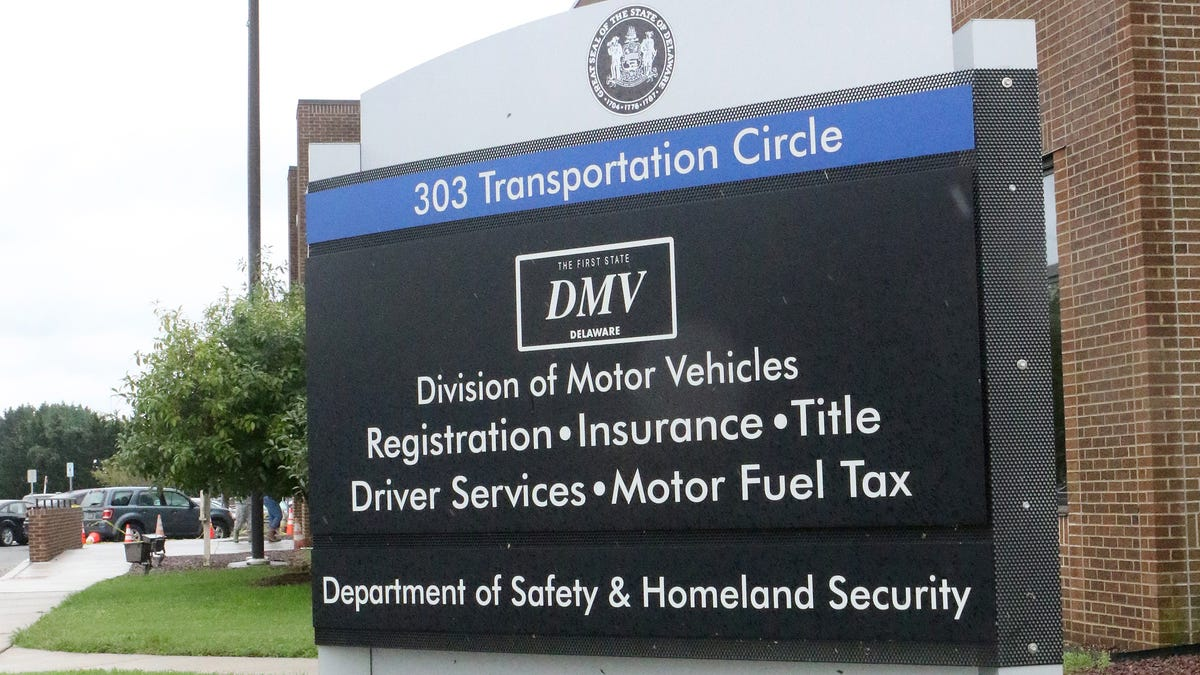 Delaware asks to avoid DMV locations for services, use website instead