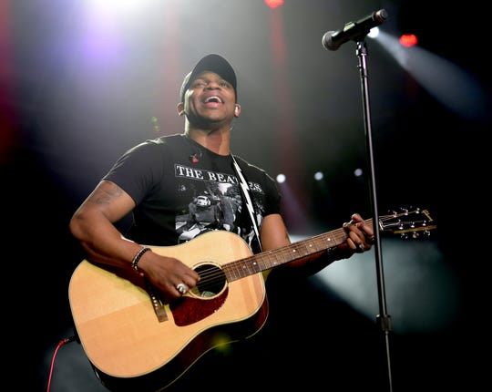 Nashville country singer and Milton native Jimmie Allen