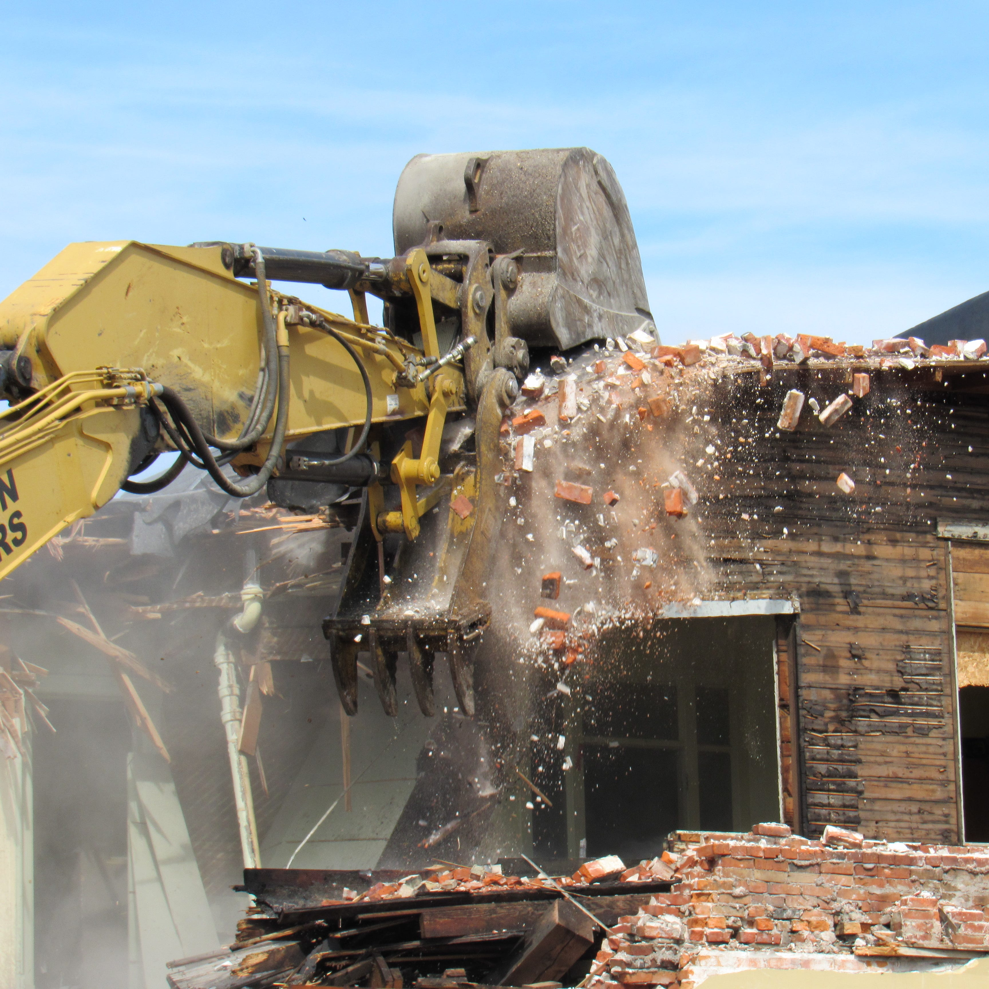 Photos: Former Church's Drug Store demolished in downtown Wisconsin Rapids