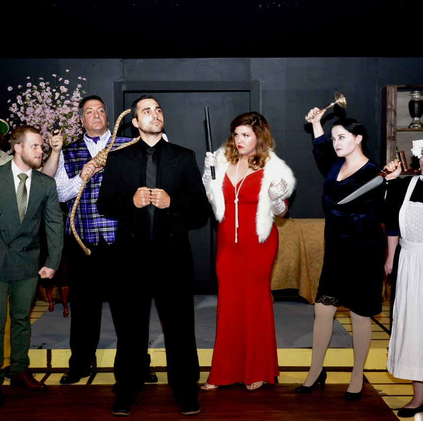 Wichita Theatre's dinner stage brings popular board game, play to life with 'Clue The Musical'