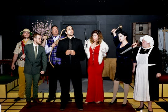 "The fun and campy ""Clue The Musical"" plays at 6:30 p.m. Saturday at Wichita Theatre's Stage 2. The musical returns on Oct. 5 and 6; and Oct. 19 and 20."