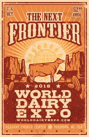 The World Dairy Expo will be held Oct. 2-6, 2018, in Madison, at the Alliant Energy Center.