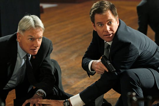 """It's been very illuminating and given me a great deal of insight and regard for what Mark Harmon was doing all those years (on 'NCIS'), when I was like, 'How come he doesn't have as much fun as the rest of us?'"" Weatherly says."