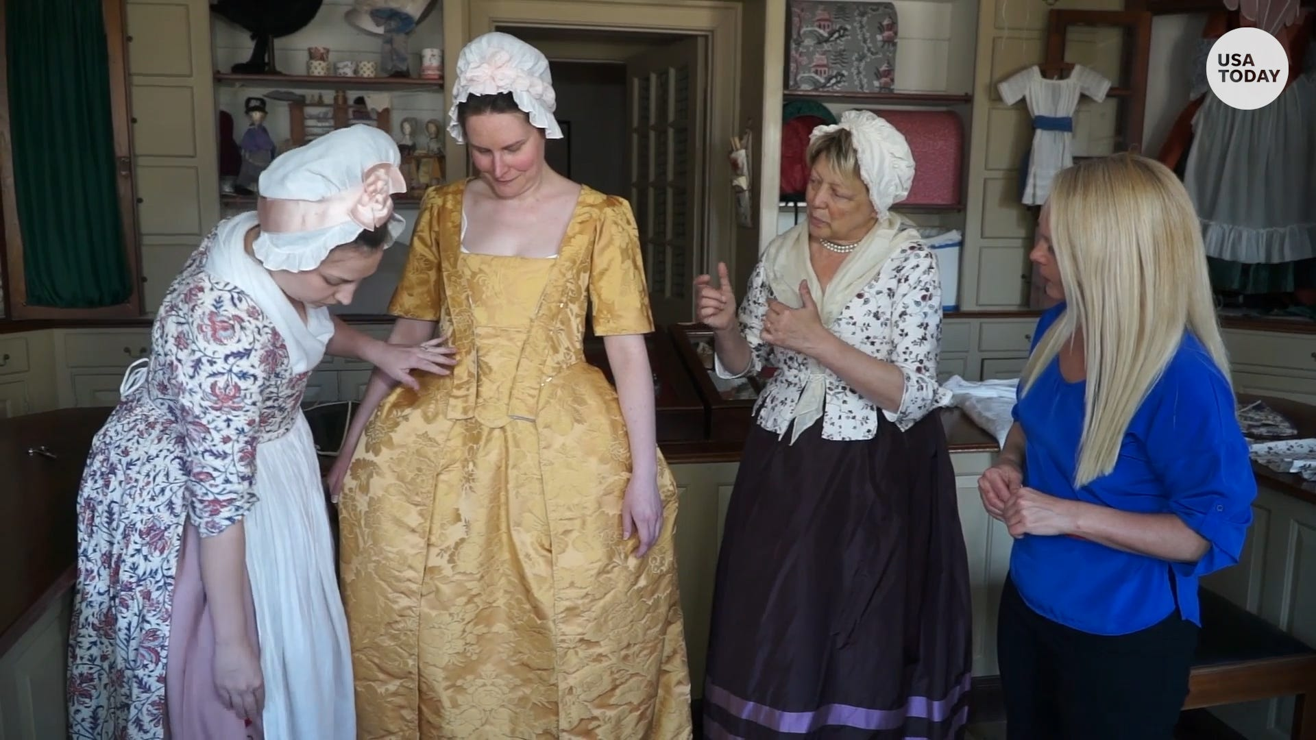 Look - Settlers did the what of jamestown wear video