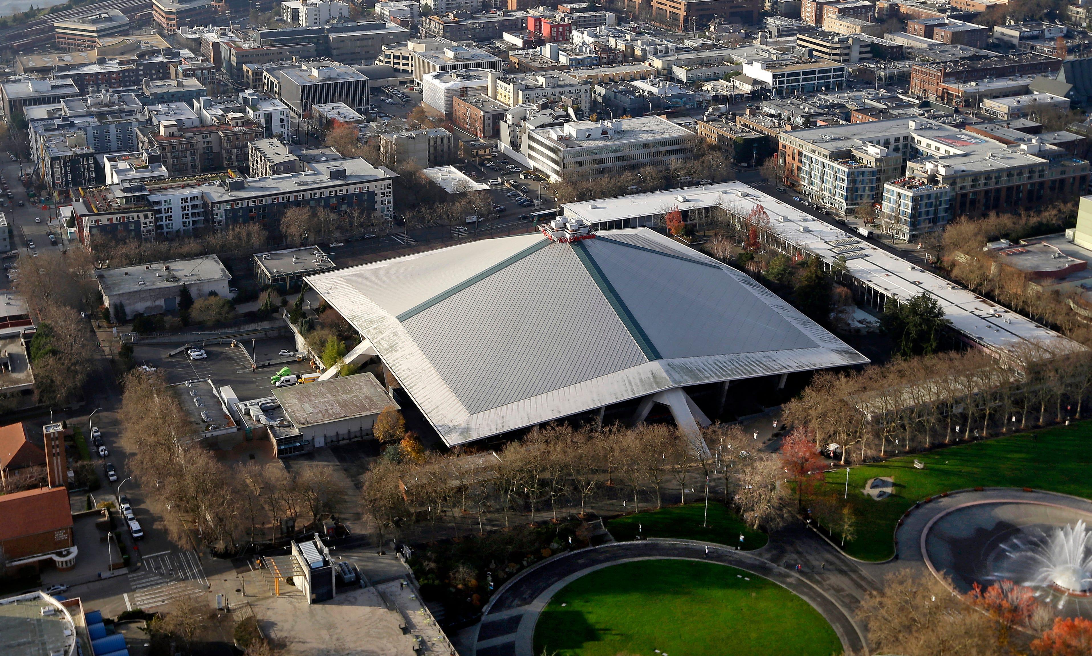 Ap Seattle Arena A S Bkn Usa Wa