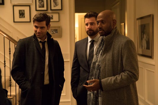 David Giuntoli James Roday Romany Malco Jr