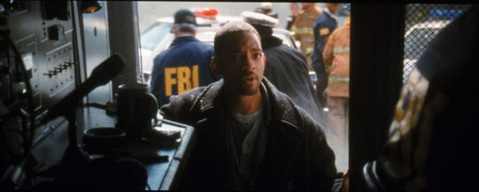 "Will Smith in ""Enemy of the State."""