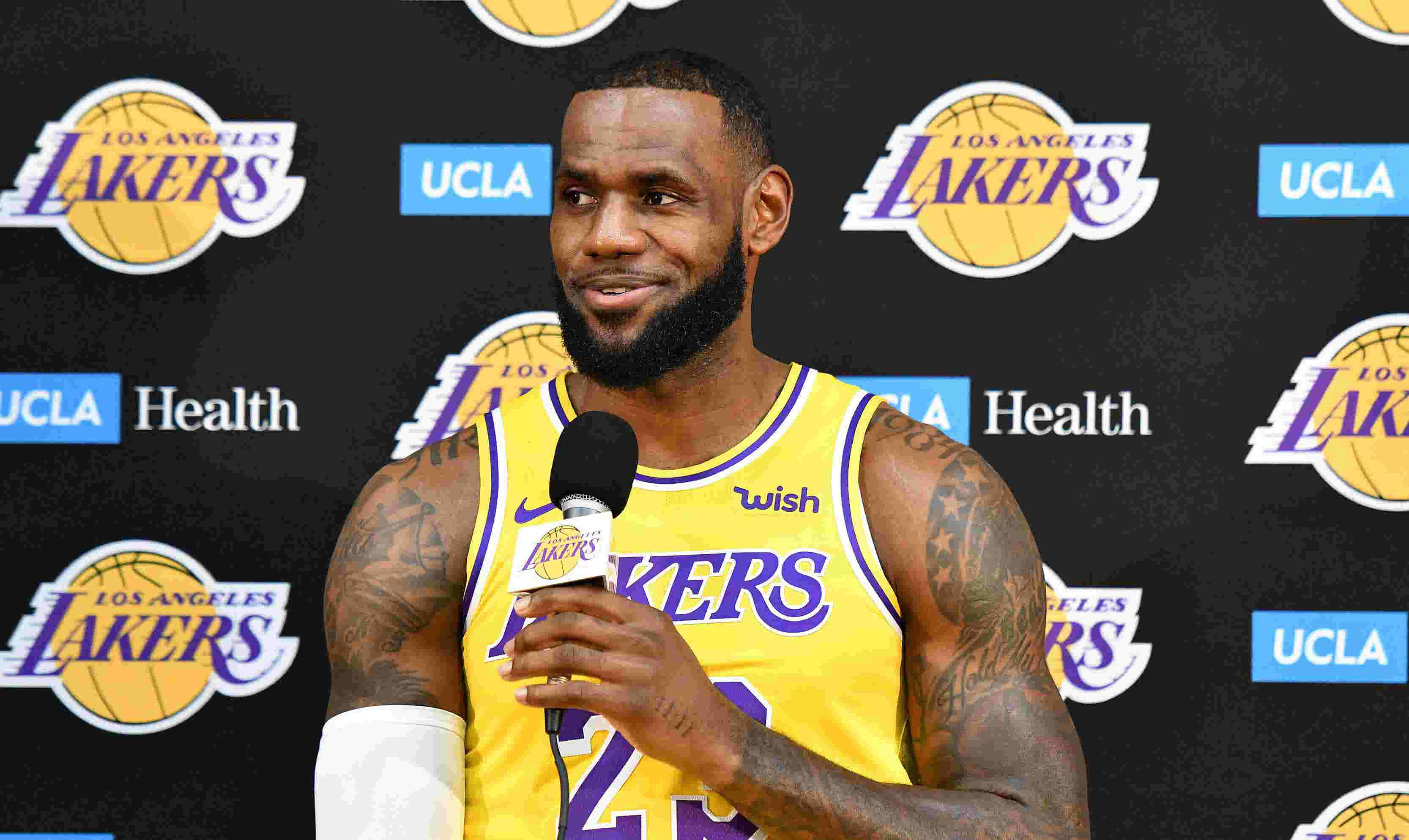 LeBron James  New-look Lakers have  a long way to go  to catch Warriors ac75923f7