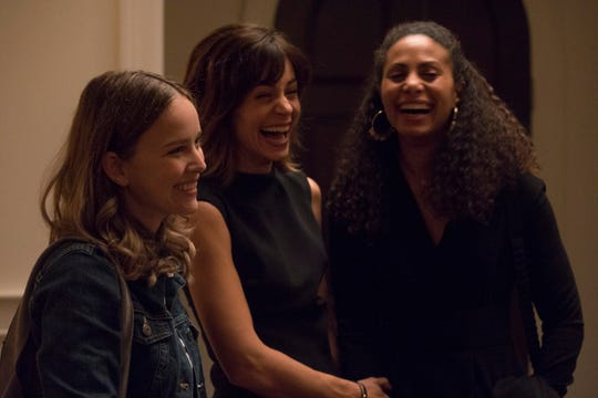 "Allison Miller, Stephanie Szostak and Christina Moses in ""A Million Little Things."""