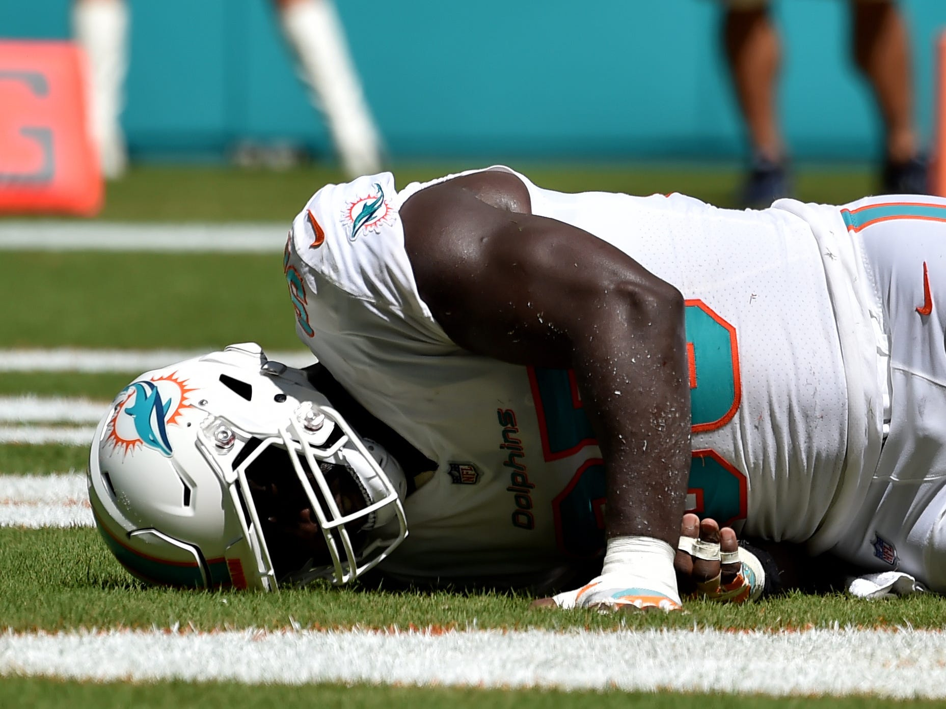 William Hayes, DE, Miami Dolphins (torn ACL, out for season)