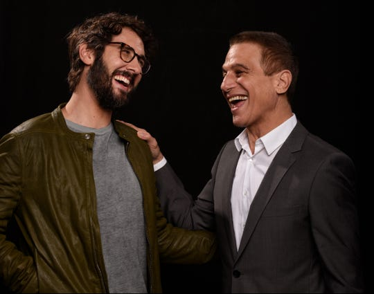 Josh Groban, left, just released new album 'Bridges' last week, while Tony Danza is currently crooning the Great American Songbook with his song-and-dance quartet on tour.