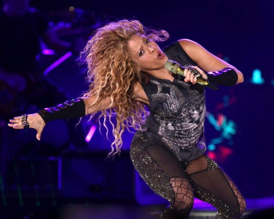 Shakira is nominated for a People's Choice Award as best Latin artist.