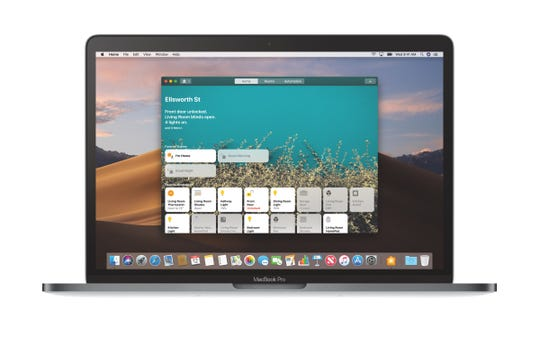 The Home app on macOS Mojave
