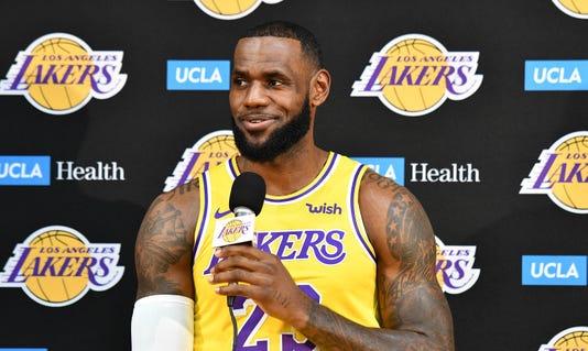 Nba Los Angeles Lakers Media Day