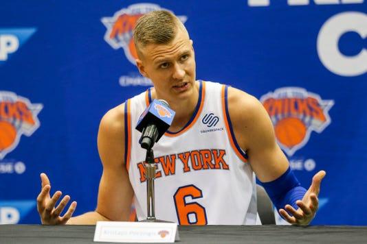 Usp Nba New York Knicks Media Day S Bkn Usa Ny