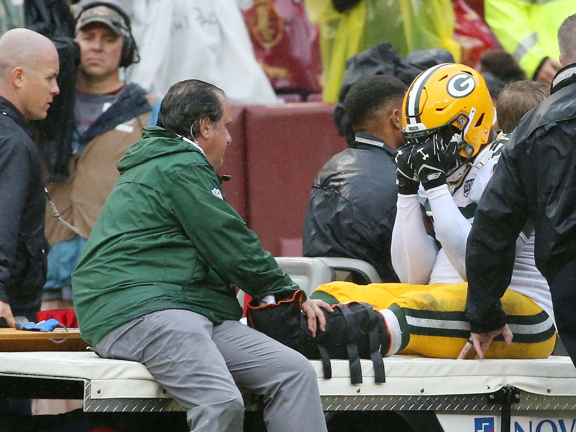 Muhammad Wilkerson, DE, Green Bay Packers (ankle, out for season)