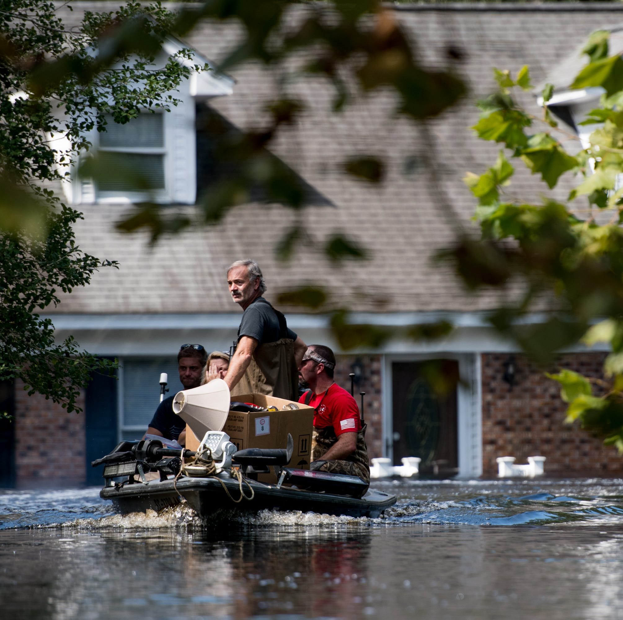 Hurricane Florence hit 10 days ago, and still hundreds of roads remain closed, thousands evacuated