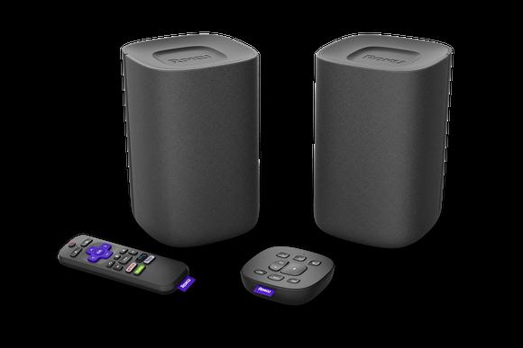 Roku's new stereo speakers are positioned as a soundbar alternative