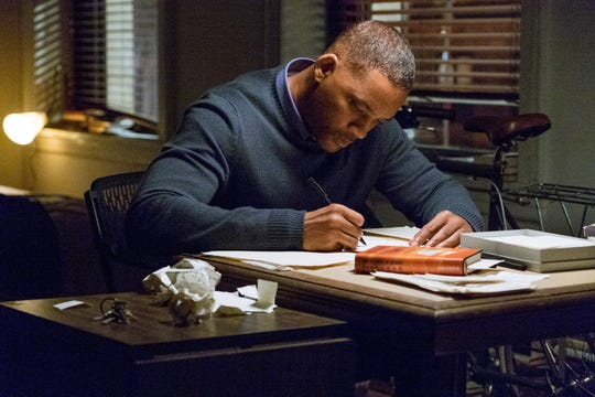 "Howard (Will Smith) writes cathartic letters to Love, Time and Death to come to grips with the loss of his daughter in ""Collateral Beauty."""